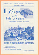LIBRI 1693 - GROTTE DI CASTRO (VT) - II^ Sagra Della Patata, Agosto 1986 - Toursim & Travels