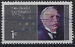 New Zealand 1971  Lord Rutherford  (o) ACS.480 - Gebraucht