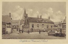 FRANCE - RAMECOURT - Dorfplatz In Ramecourt - 1916 - FELDPOST - Other Municipalities
