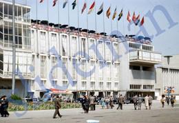 1950 FIERA INTERNAZIONALE MILANO MILAN ITALY ITALIA 35mm SLIDE PHOTO FOTO O2 - Diapositives (slides)