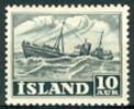 IJsland 1950-54 10aur Yrken Och Vyer PF-MNH - Ungebraucht
