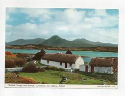 Galway (Irlanda) - Thatched Cottage Near Renvyle - Connemara - Scritta Ma Non Viaggiata - (FDC29404) - Galway