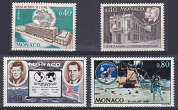 Monaco  TUC 1970 YT 827 à 830 Neufs - Nuevos