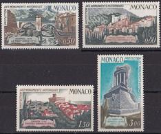 Monaco  TUC 1971 YT 851 à 854 Neuf - Nuevos