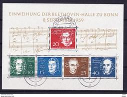 Duitsland 1959 Blok Nr 1 G, Zeer Mooi Lot K 237 - Collezioni (senza Album)