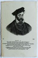 Cartolina Henri II - Historische Persönlichkeiten