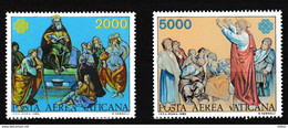 Vatikaan 1983 Luchtpost Nr 73/74 **, Zeer Mooi Lot Krt 4050 - Collezioni (senza Album)