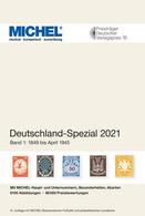 Michel Katalog 2021 Deutschland Spezial Band 1, Ab 16.04., Inland PORTOFREI Neu - Germania