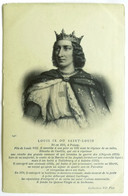 Cartolina Louis IX Ou Saint-Louis - Historische Persönlichkeiten