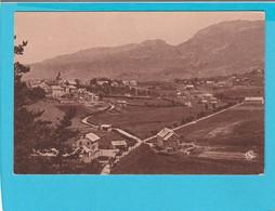 VILLARD DE LANS VUE PRISE DE LA ROUTE DE CORENCON AU FOND LE COL DE L'ARC - Villard-de-Lans