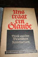 Militaria Allemagne Nazie Uns Trägt Ein Glaube - 3. Modern Times (before 1789)