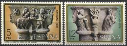 España, 1978, Navidad, Iglesia De Sta. Maria De Nìeva, Serie Completa, MNH** - 1971-80 Nuevos & Fijasellos