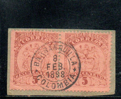COLOMBIE 1895 O - Colombia