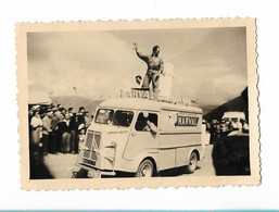 "Citroen "" Tube "" - Tour De France 1958 - Aubisque - Pub Frigo Narval - Sports"