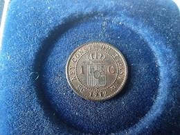 Spagna 1 Cent 1912 - Collezioni