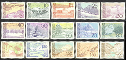 Liechtenstein 1972 Yvert 517 / 531 ** TB - Unused Stamps