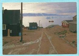 GREENLAND 01, * QANAQ * POLAR VILLAGE VIEW *   ( DANISH PHOTOGRAPHER  JØRGEN FISCHER) - Greenland
