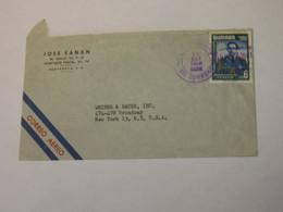 Guatemala Airmail Cover To USA 1958 - Guatemala