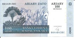 MADAGASCAR 100 ARIARY 2004 - 3 Pcs - Madagascar