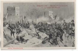 Carte Régimentaire Illustrée Par Arus  Le 119e à BURGOS En 1808 - Regimente