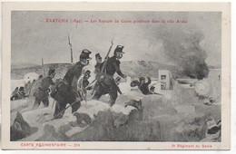 Carte Régimentaire Illustrée Par Arus  Le 2e Régiment Du Génie à ZAATCHA En 1849 - Regiments