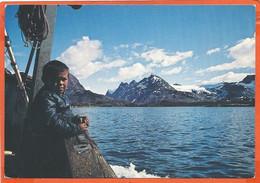 GREENLAND 01 * SAILING Towards The GREENLAND'S COAST * UNUSED - Greenland