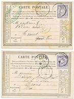 SAGE 15C GRIS N/B X 2 SUR CPP - 1877-1920: Semi-moderne Periode