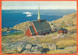 GREENLAND 01, * THE UPERNAVIK NEW CHURCH *  UNUSED - Greenland