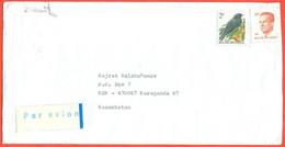 Belgium 1993.  The Envelope  Passed The Mail. Airmail. - Storia Postale