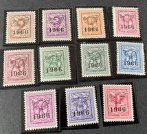 1966 - Voorafgestempelde Zegels  - Postfris/Mint - Unused Stamps