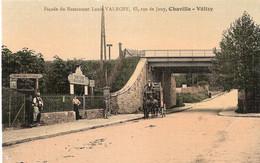 Chaville - Vélizy   Facade Du Restaurant  Louis Valroff   (avec Diligence) - Chaville