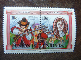 UNION ISLAND   Kings And Queens  10c   **  MNH - St.Vincent E Grenadine