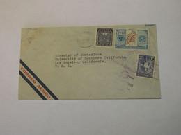 Guatemala Airmail Cover To USA 1949 - Guatemala