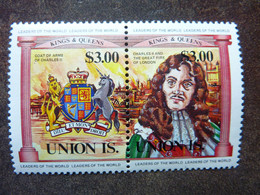 UNION ISLAND   Kings And Queens  3$   **  MNH - St.Vincent E Grenadine