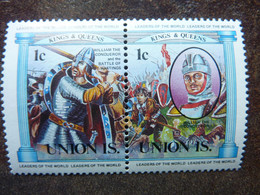 UNION ISLAND   Kings And Queens  1c   **  MNH - St.Vincent E Grenadine