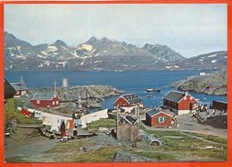 GREENLAND 01, * VIEW Of ANGMAGSSALIK  * UNUSED - Greenland