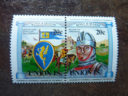 UNION ISLAND   Kings And Queens  20c   **  MNH - St.Vincent E Grenadine