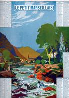 Calendrier Le PETIT MARSEILLAIS1931 (325X250mm) (CL231) - Big : 1921-40