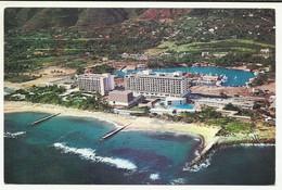 Venezuela,Macuto,  The Sheraton Hotel,  Aerial View, 1990. - Venezuela