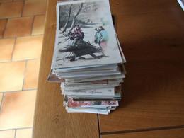 COLLECTION EN LOT DE 440 CARTES POSTALES FANTAISIE ANCIENNES BEBES ENFANTS 34 PHOTOS - 100 - 499 Postcards
