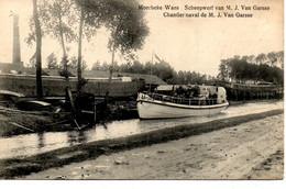 Moerbeke-Waes: Scheepswerf Van Garsse - Moerbeke-Waas