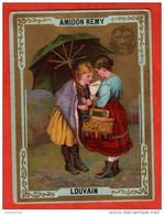 Chromo Amidon Remy à LOUVAIN BELGIQUE :  Calendrier 1886 ( Image ) - Formato Piccolo : ...-1900