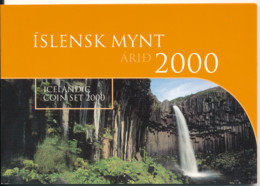 Islande Iceland, 2000 Coin Set - Iceland