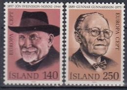++Iceland 1980. EUROPA / CEPT. Michel 552-53. MNH(**) - Ungebraucht