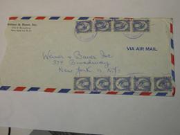 Guatemala Airmail Cover To USA 1953 - Guatemala
