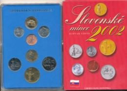 Slovaquie, Slovenska, 2002 Coin Set - Slovakia