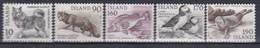 ++G2459. Iceland 1980. Fauna. Michel 550-51 + 558-60. MNH(**) - Ungebraucht
