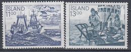 ++Iceland 1983. Fishing. Michel 600-01. MNH(**) - Ungebraucht