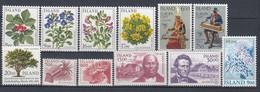 ++G2465. Iceland 1985. 12 Items. MNH(**) - Ungebraucht