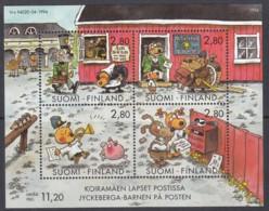 FINNLAND  Block 14, Postfrisch **, Jugendhobbys - Comics, 1994 - Blocchi E Foglietti